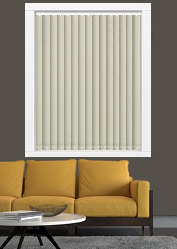 Blockout Vertical Replacement Slats - Affinity - Chiffon Silk
