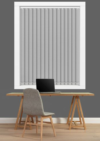 Blockout Vertical - Affinity 89mm Slats - Pinnacle
