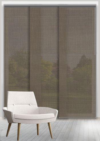 Screen Panel - Sunshadow Trend - Bronze / Mustard