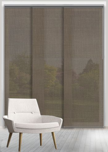 Screen Panel - Sunshadow Trend - Bronze / Mustard