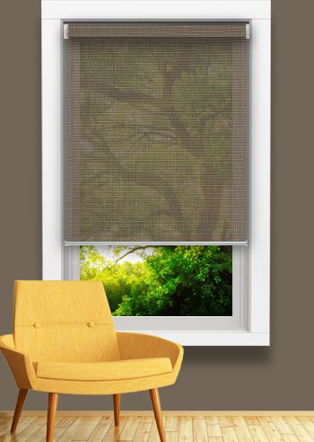 Screen Roller - Sunshadow Trend - Bronze / Mustard