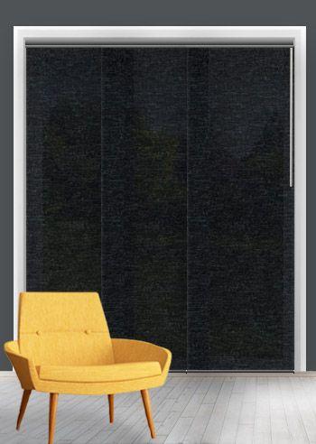 Translucent Panel - Skye - Raven