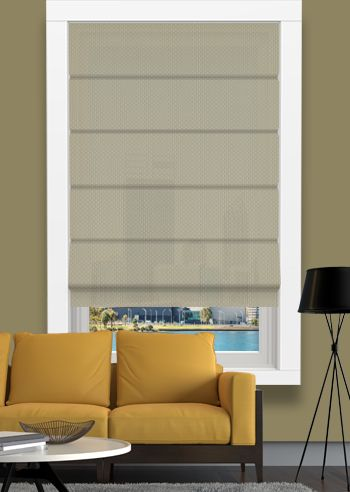 Screen Roman - Solarscape - Beige Grey