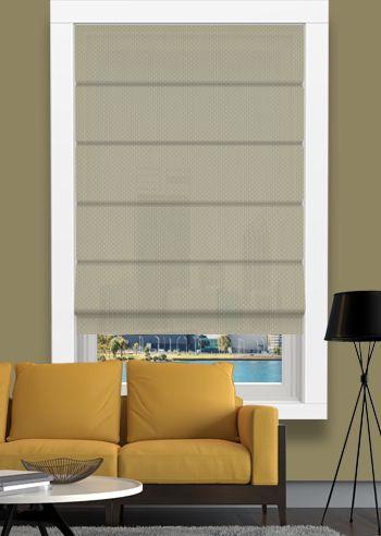 Screen Roman - Solarscape - Beige Grey