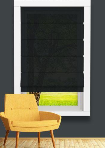 Screen Roman - Solarscape - Black