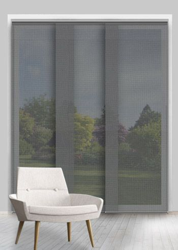 Screen Panel - Solarscape - Black Grey