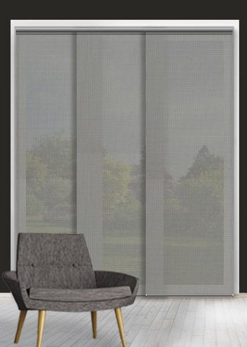 Screen Panel - Solarscape - Grey