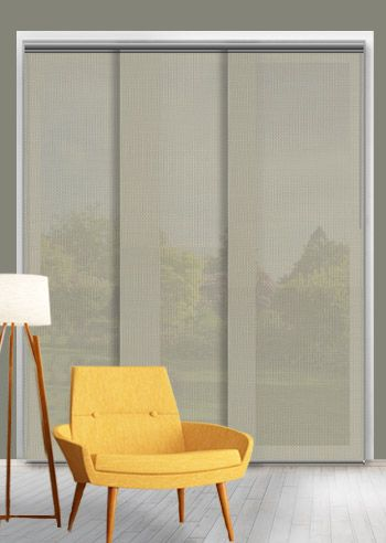 Screen Panel - Solarscape - White Beige