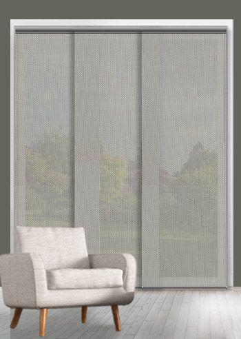 Screen Panel - Solarscape - White Grey