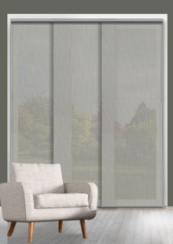 Screen Panel - Solarscape - White Grey