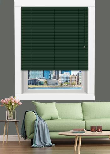 Venetian - Standard 25mm Slats - Hunter Green
