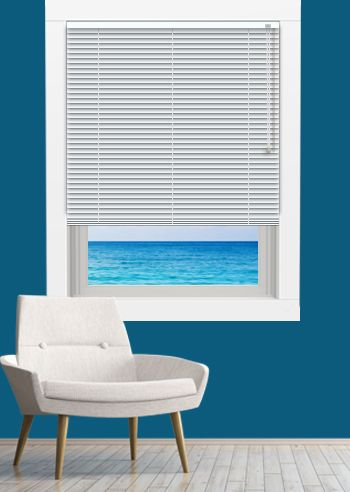 Venetian - Goodnighter 25mm Slats - White Gloss